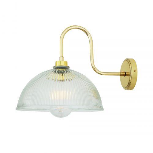 Bathwaters Mullan Lighting MLBWL054POLBRS 2