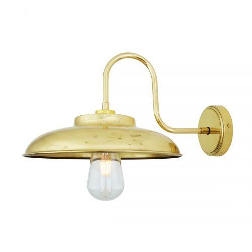Bathwaters Mullan Lighting MLBWL055POLBRS 2