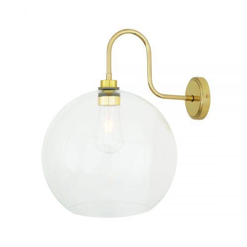 Bathwaters Mullan Lighting MLBWL056POLBRS 2