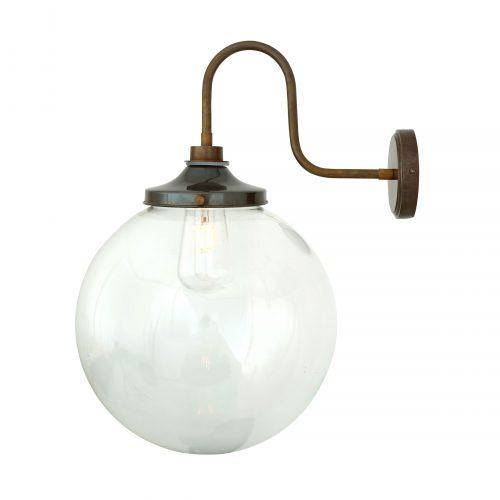 Bathwaters Mullan Lighting MLBWL058ANTBRS 4