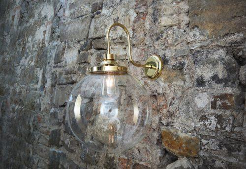 Bathwaters Mullan Lighting MLBWL058POLBRS 1