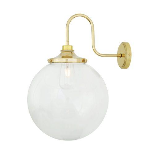 Bathwaters Mullan Lighting MLBWL058POLBRS 2