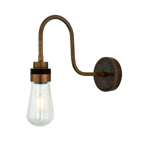 Bathwaters Mullan Lighting MLBWL059ANTBRS 2