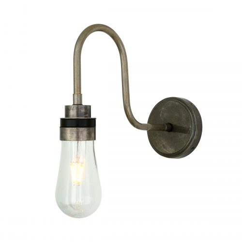 Bathwaters Mullan Lighting MLBWL059ANTSLV 2
