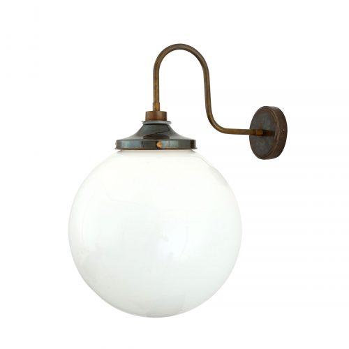 Bathwaters Mullan Lighting MLBWL060ANTBRS 2