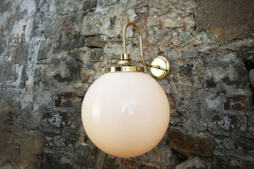 Bathwaters Mullan Lighting MLBWL060POLBRS 1
