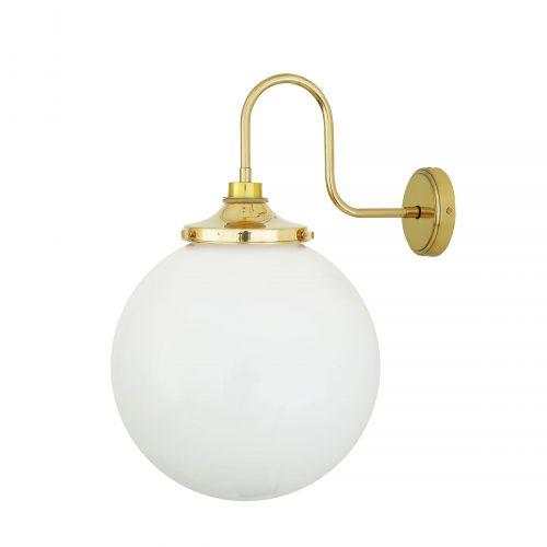 Bathwaters Mullan Lighting MLBWL060POLBRS 2