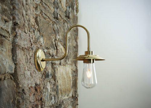 Bathwaters Mullan Lighting MLBWL061POLBRS 1