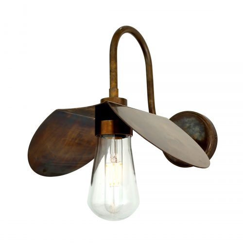 Bathwaters Mullan Lighting MLBWL062ANTBRS 2