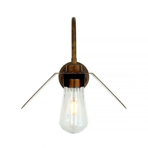 Bathwaters Mullan Lighting MLBWL062ANTBRS 3