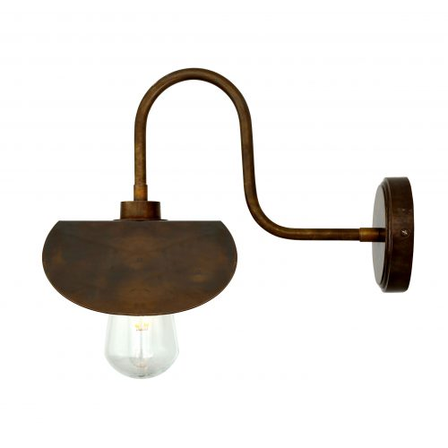 Bathwaters Mullan Lighting MLBWL062ANTBRS 4