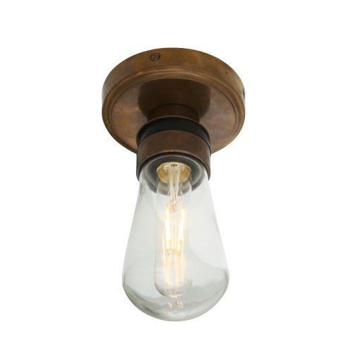 Bathwaters Mullan Lighting MLBWL101ANTBRS 2