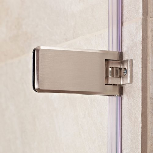 Bathwaters Roman Brushed nickel hinge