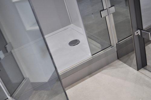 Bathwaters Roman Grey Anti slip tray