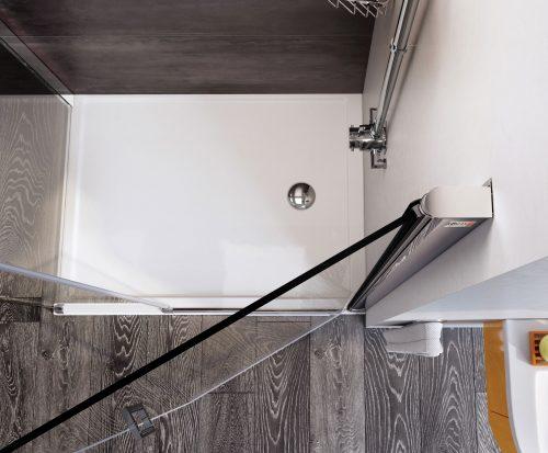 Bathwaters Roman White Anti Slip tray