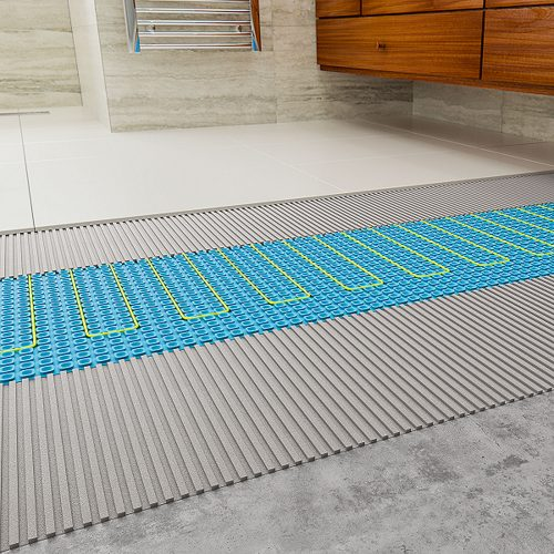 Bathwaters ThermoSphere Membrane Floor Cutaway