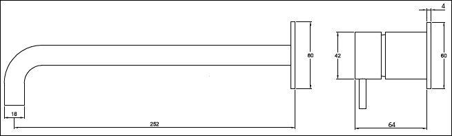 FL.123CWN tech drawing