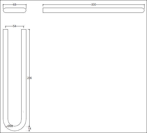 FL.205C tech drawing