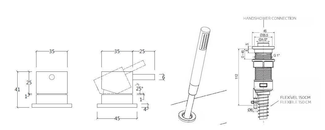 FL.412CD 1 tech drawing