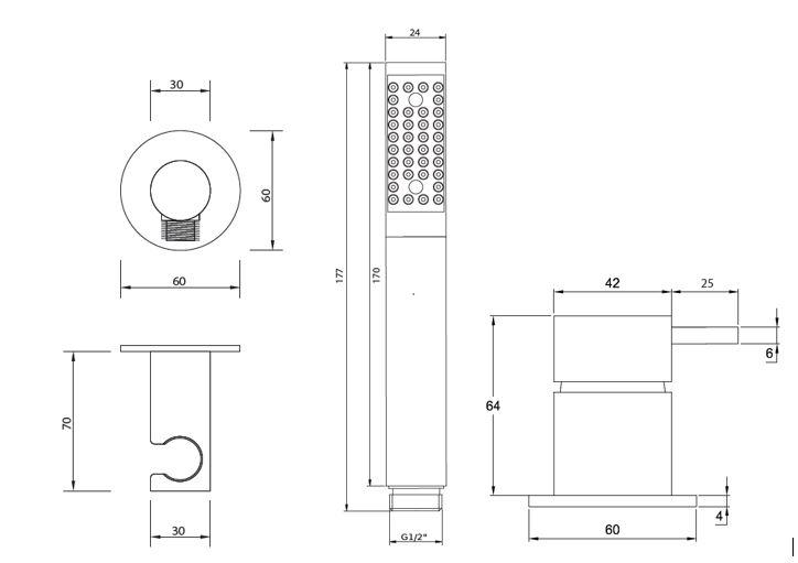 FL.412CW 1 tech drawing