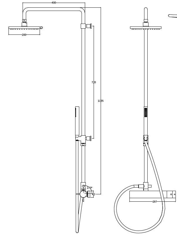 FL.522CE 200 tech drawing