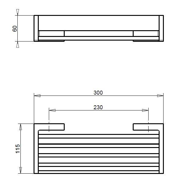 SB.105C tech drawing