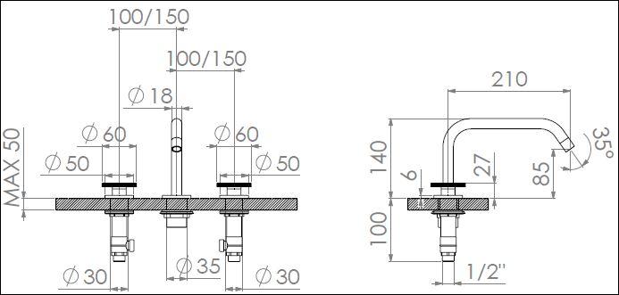 ST.123CDN tech drawing