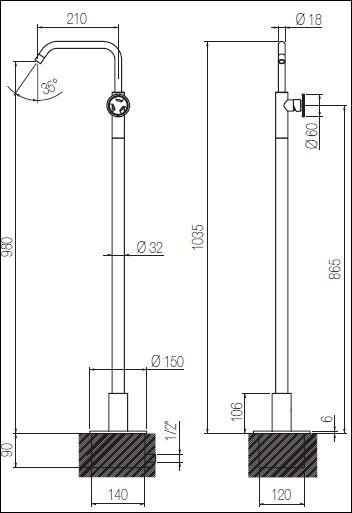 ST.141CFN tech drawing