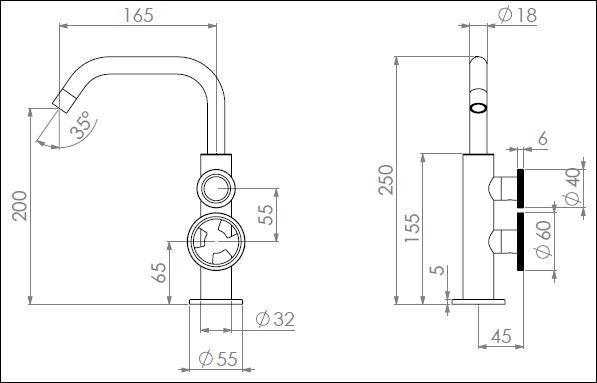 ST.161CDN tech drawing