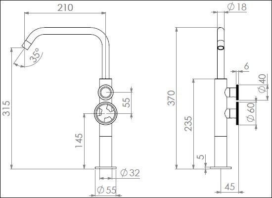 ST.171CDN tech drawing
