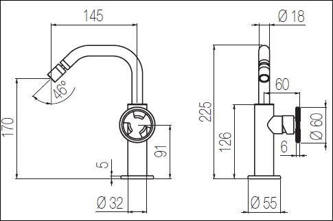 ST.221CDN tech drawing