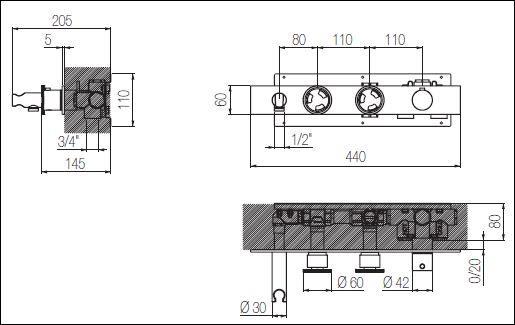 ST.324CW 2 tech drawing