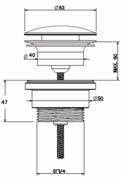 WA.125B tech drawing
