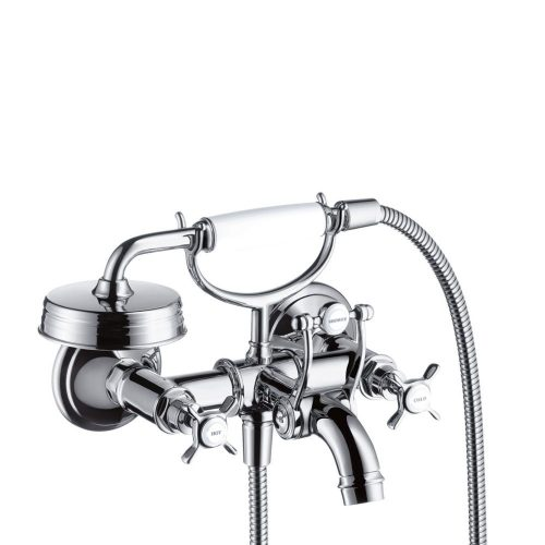 west one bathrooms 16540000 axor montreux 2 handle manual bath and shower mixer for exposed installation 1 1000×1000