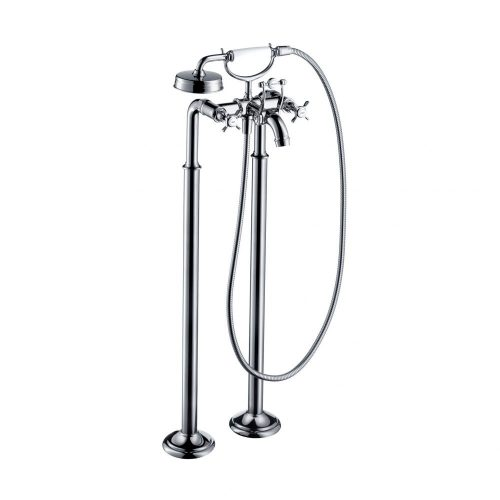 west one bathrooms  16547000 axor montreux floor standing single lever bath and shower mixer 1000×1000