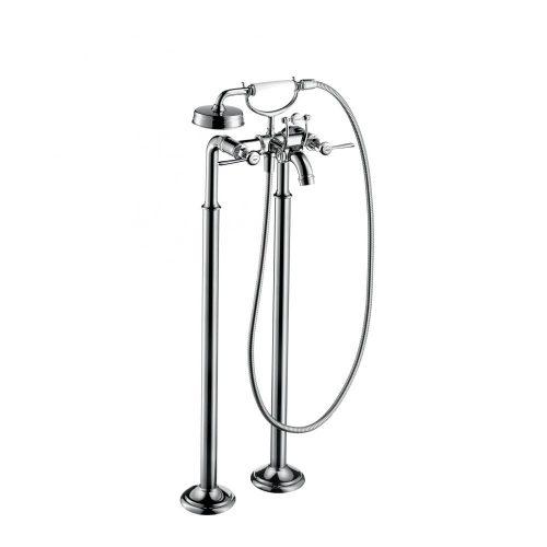west one bathrooms 16553000 axor montreux floor standing 2 handle bath mixer with lever handles 1 1000×1000