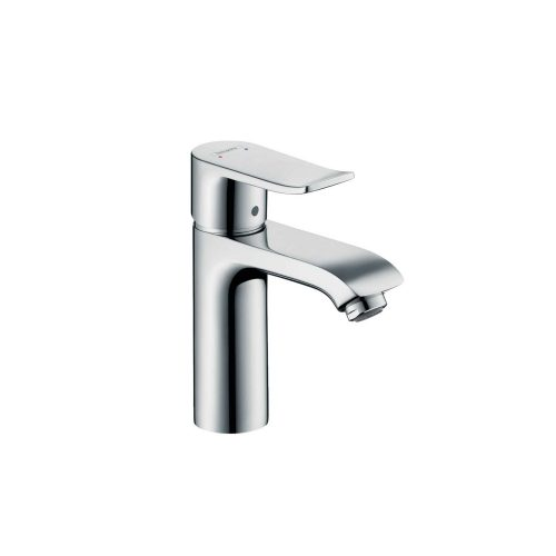 west one bathrooms 31080000 hansgrohe metris single lever basin mixer 110 with pop up waste 02 1000×1000 2