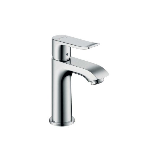 west one bathrooms 31186000 hansgrohe metris single lever basin mixer 100 for cloakroom basins without waste 1000×1000