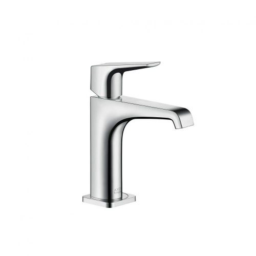 west one bathrooms 36111000 axor citterio e single lever basin mixer 125 with lever handle without waste 1000×1000