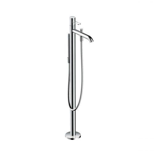 west one bathrooms 38442000 axor uno floor standing single lever bath mixer loop handle 1 1000×1000