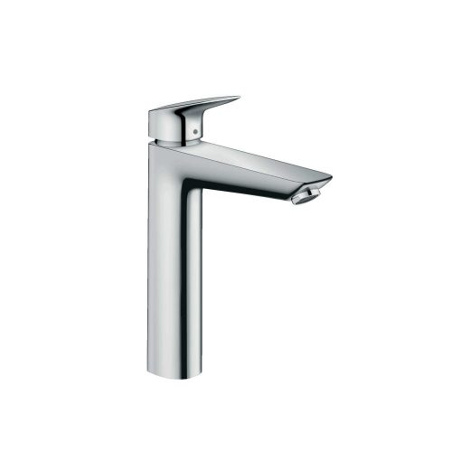 west one bathrooms 71090000 hansgrohe logis single lever basin mixer 190 with pop up waste 1000×1000