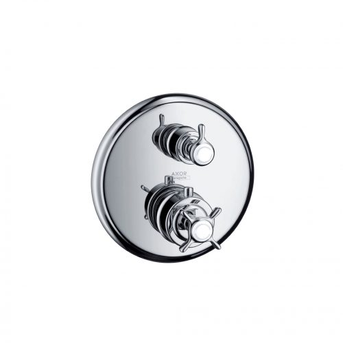 West One Bathrooms Online 16800000 axor montreux thermostatic mixer for concealed installation with shut off valve 1