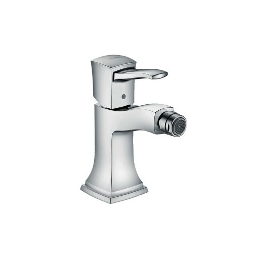 West One Bathrooms Online 31320000 hansgrohe metropol classic single lever bidet mixer with lever handle and pop up waste