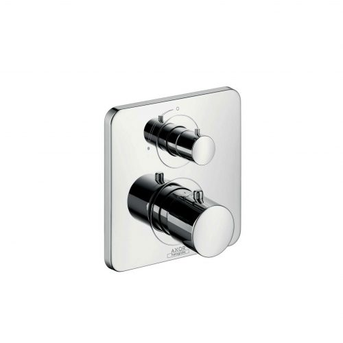 West One Bathrooms Online 34705000 axor citterio m thermostatic mixer for concealed installation with shut off valve 1