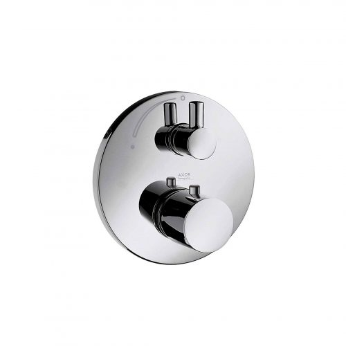West One Bathrooms Online 38700000 axor uno thermostatic mixer for concealed installation with shut off valve