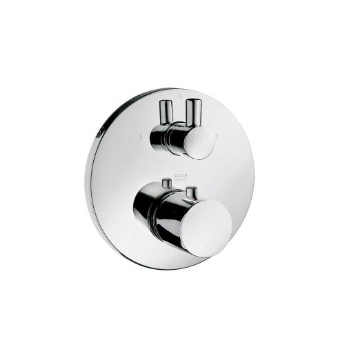 West One bathrooms online 38720000 axor uno thermostatic mixer for concealed installation with shut off and diverter valve 1