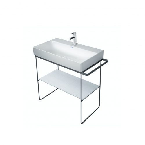 West One Bathrooms Online Diravit console 865×451 Black