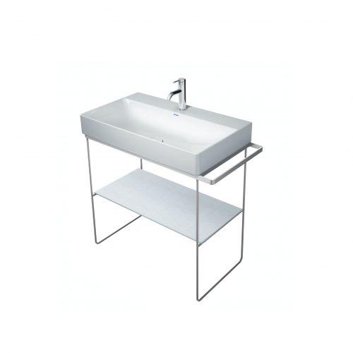 West One Bathrooms Online Diravit console 865×451 Chrome