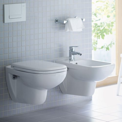 West One Bathrooms Online Duravit D Code Rimless Wall Hung Toilet