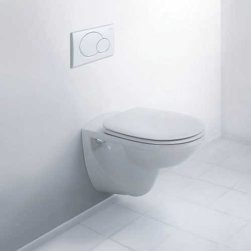 west one bathrooms online duravit d code rimless wall hung toilet pan only tif 1000×1000